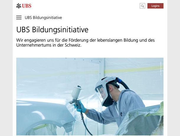 Read more about the article Video UBS Bildungsinitiative – Tour d'Horizon